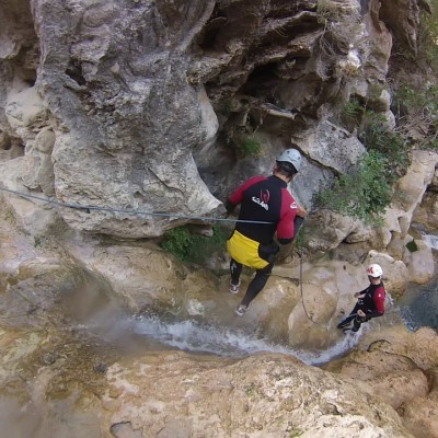 Canyoning, climbing and via ferrata climbing routes