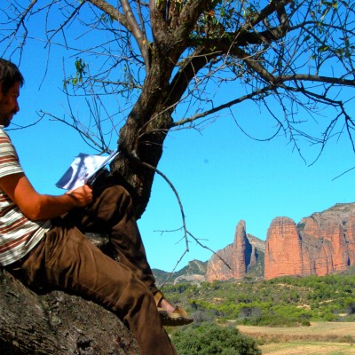 Landscape and free reading